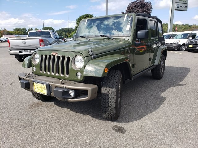 Jeep Sahara 2016 >> Certified Pre Owned 2016 Jeep Wrangler Unlimited Sahara 4wd